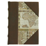 """Mappa Mundi"" Leather & Paper Journal"
