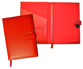 Red Leather Journals with Paper Insert